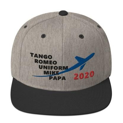 airplaneTees TRUMP 2020 Hat- Black... Snapback Hat 3