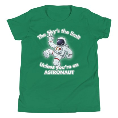 airplaneTees The Sky's the limit tee youth - Option 1... Youth Short Sleeve T-Shirt 6