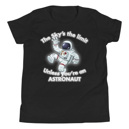airplaneTees The Sky's the limit tee youth - Option 1... Youth Short Sleeve T-Shirt 3