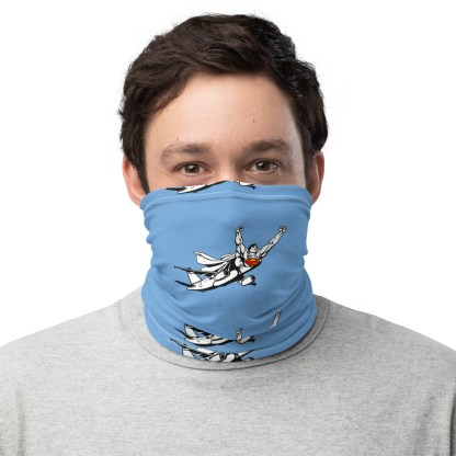 airplaneTees SuperPlane Face Mask/Covering/Neck Gaiter 1