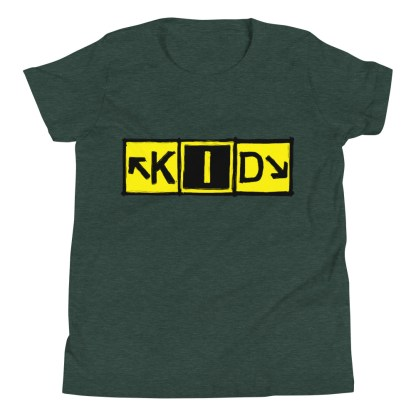 airplaneTees KID Taxiway Art Tee... Youth Short Sleeve T-Shirt 4