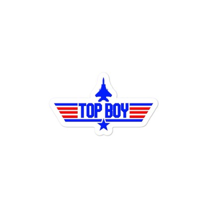 airplaneTees Top Boy stickers... Bubble-free 2