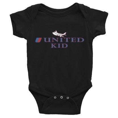 airplaneTees United Kid Onesie... Rabbit Skins... Infant Bodysuit 3