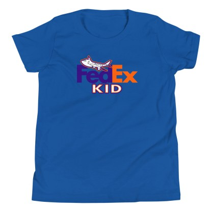 airplaneTees FedEx Kid Youth Tee... Short Sleeve T-Shirt 4