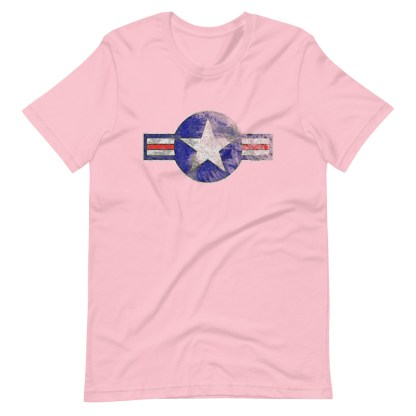 airplaneTees Roundel US Armed Forces tee weathered...Short-Sleeve Unisex T-Shirt 16