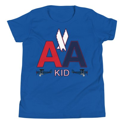 airplaneTees American Kid Youth Tee... Short Sleeve 8