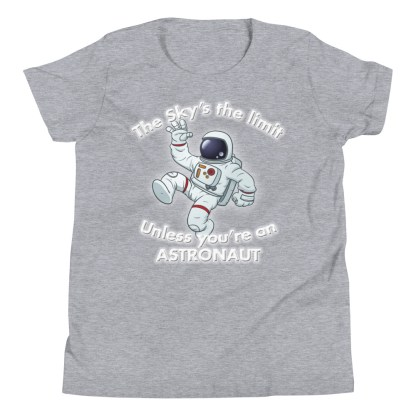 airplaneTees The Sky's the limit tee youth - Option 1... Youth Short Sleeve T-Shirt 7