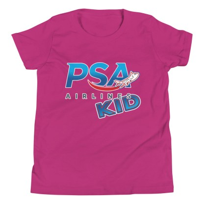 airplaneTees PSA Airlines Kid youth tee... Short Sleeve 12