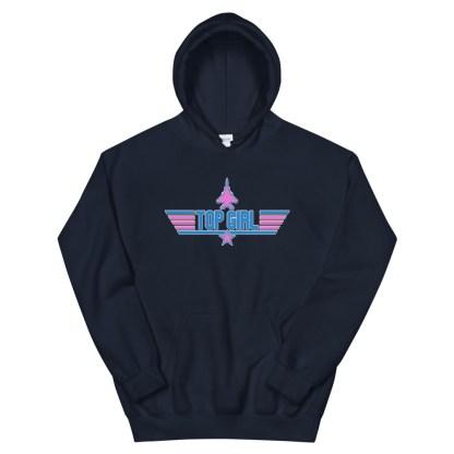 airplaneTees Top Girl Hoodie... Unisex 8