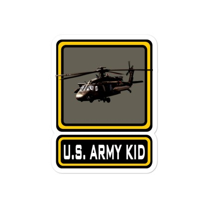 airplaneTees US Army Kid Stickers... Bubble-free 2
