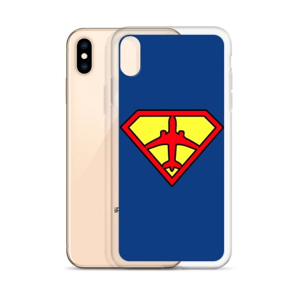 airplaneTees Superpilot iPhone Case 22