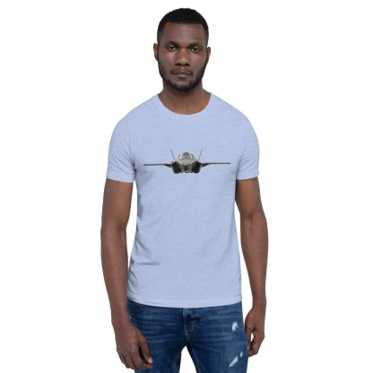 airplaneTees F35 Front View... Short-Sleeve Unisex T-Shirt 2