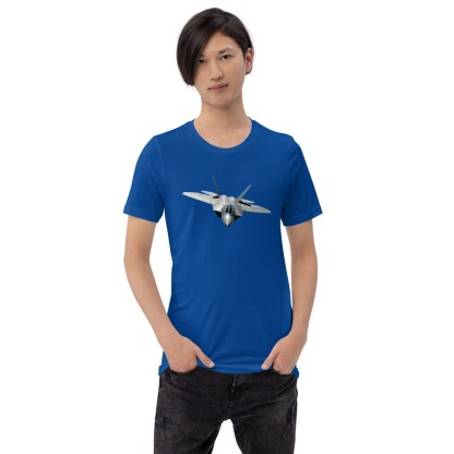 airplaneTees F22 Front View... Short-Sleeve Unisex T-Shirt 3