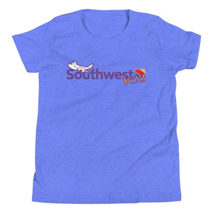 airplaneTees Southwest Kid Youth Tee... Short Sleeve T-Shirt 7