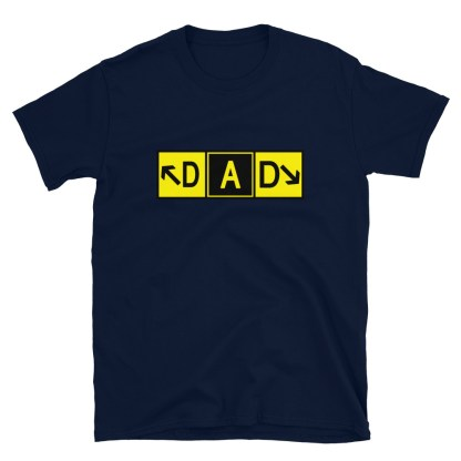 airplaneTees DAD Taxiway Art Tee... Short-Sleeve Unisex T-Shirt 6