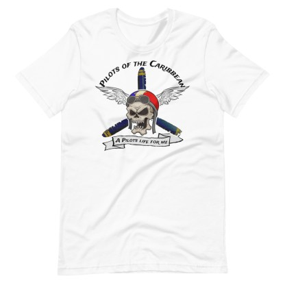 airplaneTees Pilots of the Caribbean Tee... Short-Sleeve Unisex T-Shirt 5