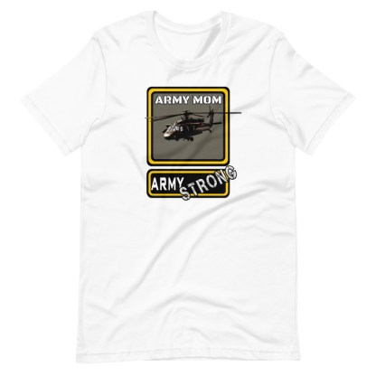 airplaneTees PERSONALIZE IT - Army Strong Tee, Army Mom, Dad, Rank, Class you name it. Short-Sleeve Unisex T-Shirt 4
