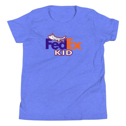 airplaneTees FedEx Kid Youth Tee... Short Sleeve T-Shirt 6