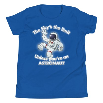 airplaneTees The Sky's the limit tee youth - Option 1... Youth Short Sleeve T-Shirt 8