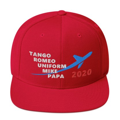 airplaneTees TRUMP 2020 Hat - White... Snapback 1
