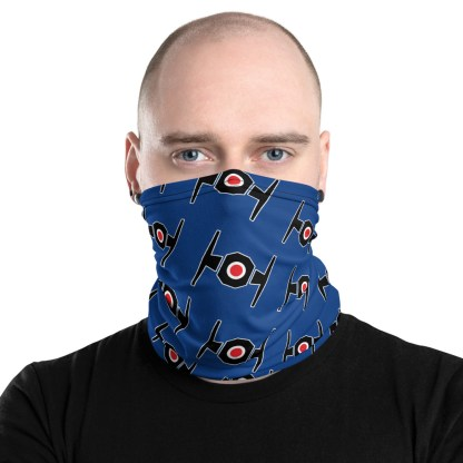 airplaneTees Tie Fighter Face Mask/Face Covering/Neck Gaiter 1