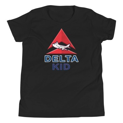 airplaneTees Delta Kid Youth Tee... Short Sleeve 3
