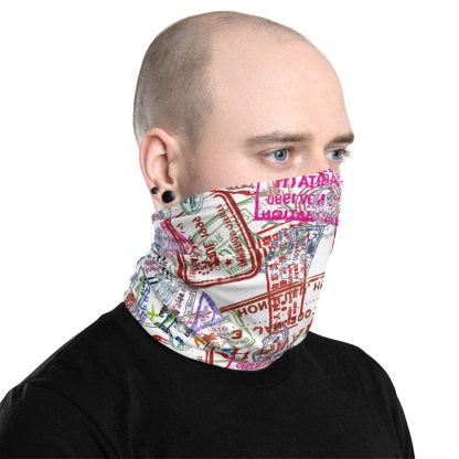 airplaneTees Going Places Face Mask/Face Covering/Neck Gaiter 3