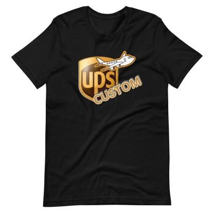 airplaneTees CUSTOM UPS Guy/Gal/Dad/Mom Tee Short-Sleeve Unisex 5