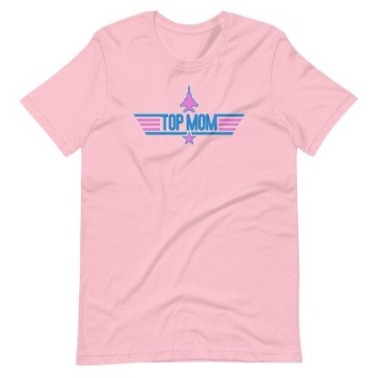 airplaneTees Top Mom tee in Pink... Short-Sleeve Unisex 1
