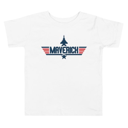airplaneTees Maverick Toddler Tee Short Sleeve 4