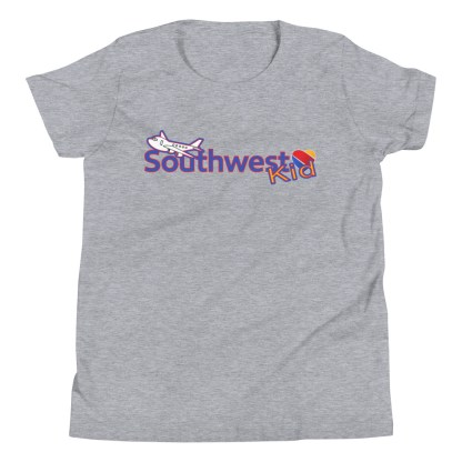 airplaneTees Southwest Kid Youth Tee... Short Sleeve T-Shirt 1