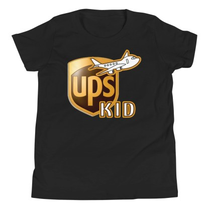 airplaneTees UPS Kid Youth Tee... Short Sleeve T-Shirt 3