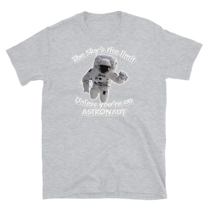 airplaneTees The Sky's the limit tee - Option 2... Short-Sleeve Unisex 9