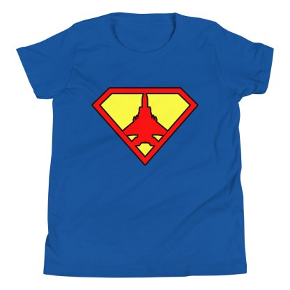 airplaneTees Super Fighter Pilot Youth Tee... Short Sleeve 1