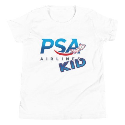airplaneTees PSA Airlines Kid youth tee... Short Sleeve 10