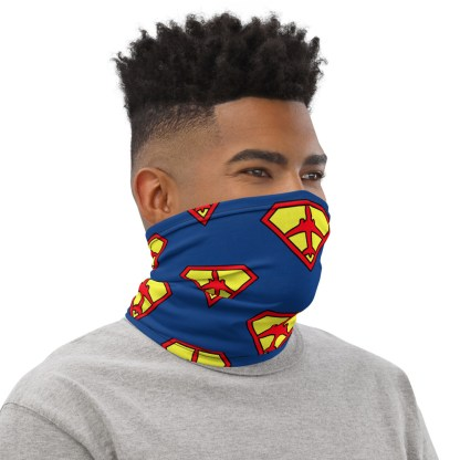 airplaneTees SuperPilot Face Mask/Face Covering/Neck Gaiter 2