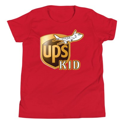 airplaneTees UPS Kid Youth Tee... Short Sleeve T-Shirt 12