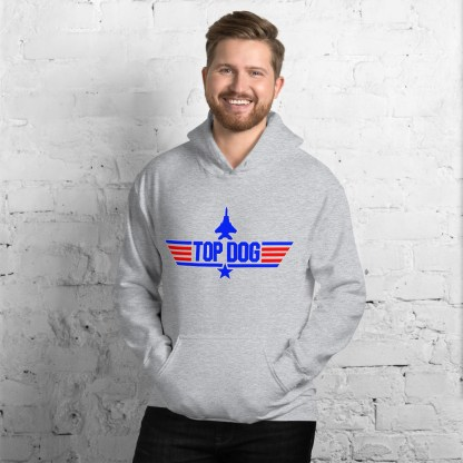 airplaneTees Top Dog Hoodie... Unisex 5