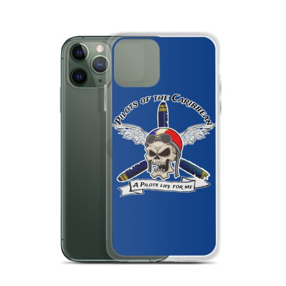 airplaneTees Pilots of the Caribbean iPhone Case 4