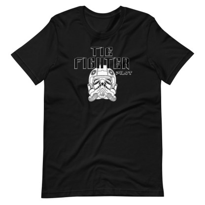 airplaneTees Tie Fighter Pilot Tee... Short-Sleeve Unisex T-Shirt 7