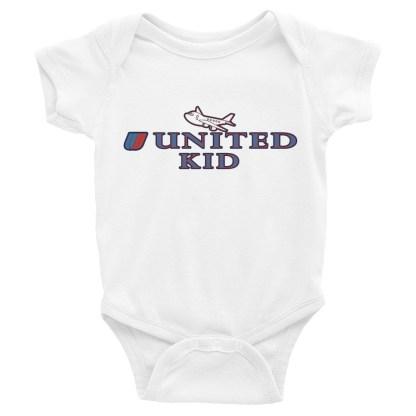 airplaneTees United Kid Onesie... Rabbit Skins... Infant Bodysuit 4