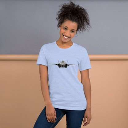 airplaneTees F35 Front View... Short-Sleeve Unisex T-Shirt 6