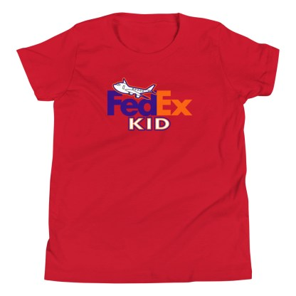 airplaneTees FedEx Kid Youth Tee... Short Sleeve T-Shirt 8