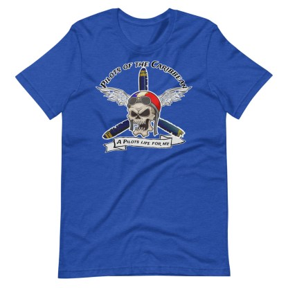 airplaneTees Pilots of the Caribbean Tee... Short-Sleeve Unisex T-Shirt 11