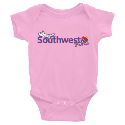 airplaneTees Southwest Kid Onesie... Rabbit Skins... Infant Bodysuit 5