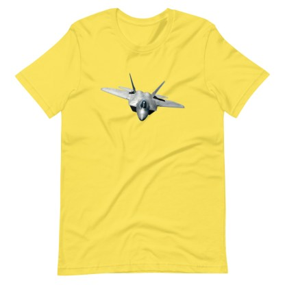 airplaneTees F22 Front View... Short-Sleeve Unisex T-Shirt 14