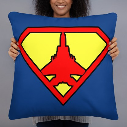 airplaneTees Super Fighter Pilot Pillow 6