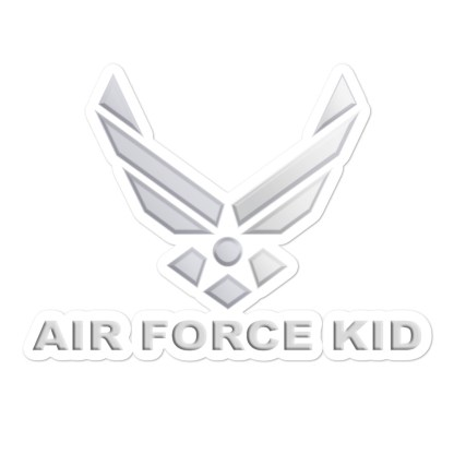 airplaneTees US Air Force Kid Stickers... Bubble-free 1