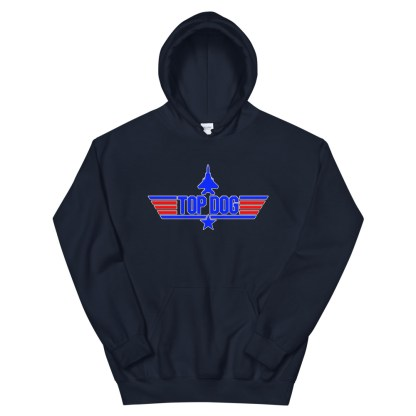 airplaneTees Top Dog Hoodie... Unisex 9