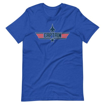 airplaneTees Captain Maverick Style Tee... Short-Sleeve Unisex 16